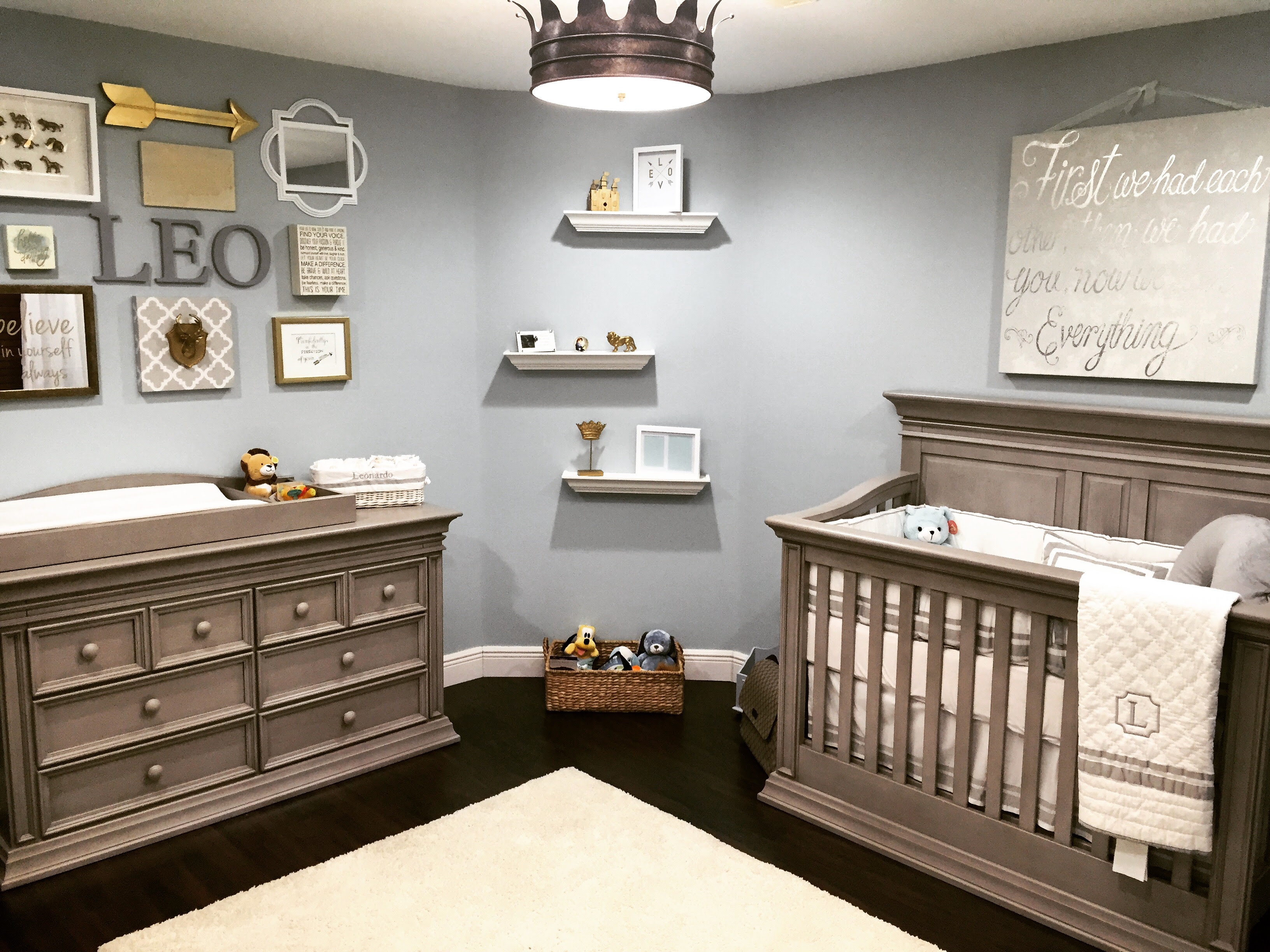 Little Leo's Nursery fit for a King - Project Nursery