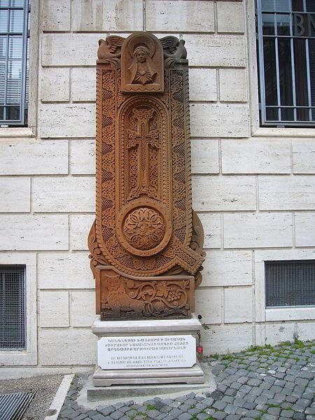 File:Trevi - salita s Nicola da Tolentino - memoria degli Armeni martiri 1260307.JPG