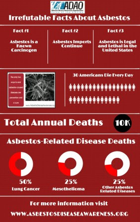 ADAO Infographic Irrefutable Facts About Asbestos