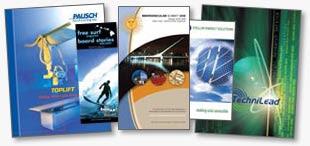 printed brochure samples