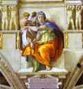 Michelangelo. The Sibyl of Delphi.