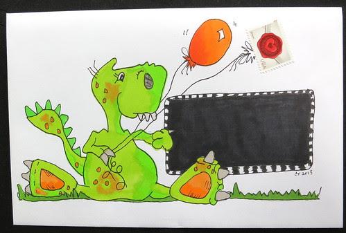 Fun mail art