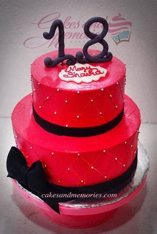 18th Birthdays ? Cakes and Memories