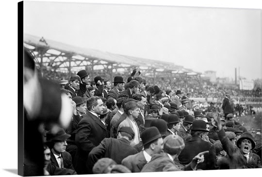 One-game playoff between the New York Giants and the Chicago Cubs, Polo Grounds, 1908