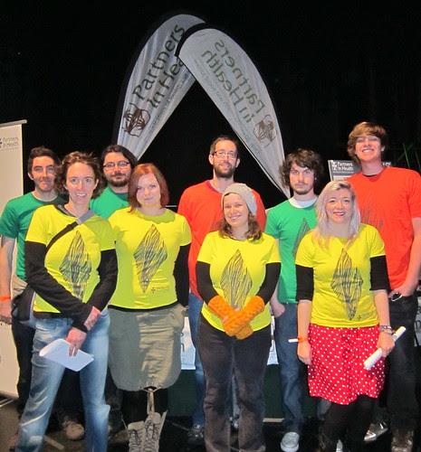 Glasgow volunteer crew standing strong!