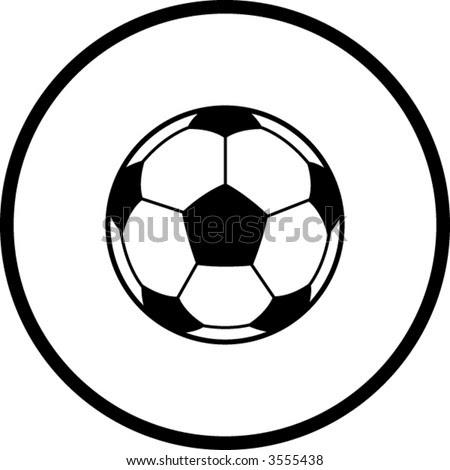 soccer ball. stock vector : soccer ball