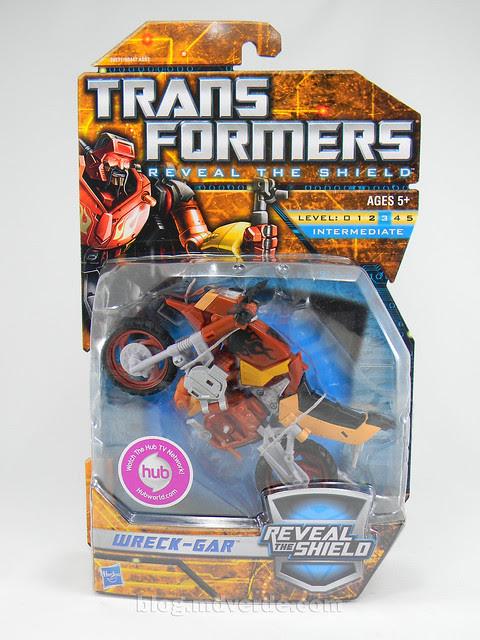 Transformers Wreck-Gar Reveal the Shield Deluxe - caja