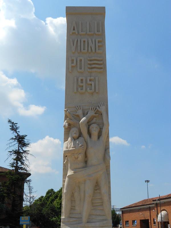 alluvione Po 1951, Virgilio Milani, stazione di Rovigo