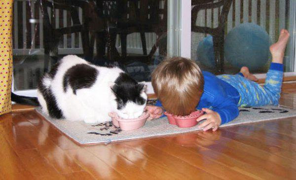 Kids And Their Best Pet Friends. They Don't Look So Different