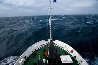 Rogue waves could form near strong ocean currents