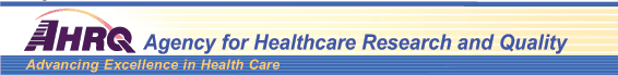 Agency for Healthcare Research Quality