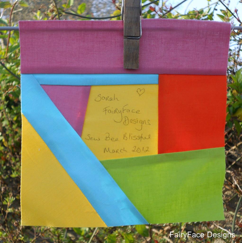 March Signature block