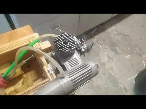 JBA .46 ABC un motore da 7,5 cc di tutto rispetto
