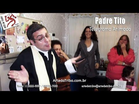 "Telegrama Animado - Padre Tito reencontra seu ""grande amor"" !"