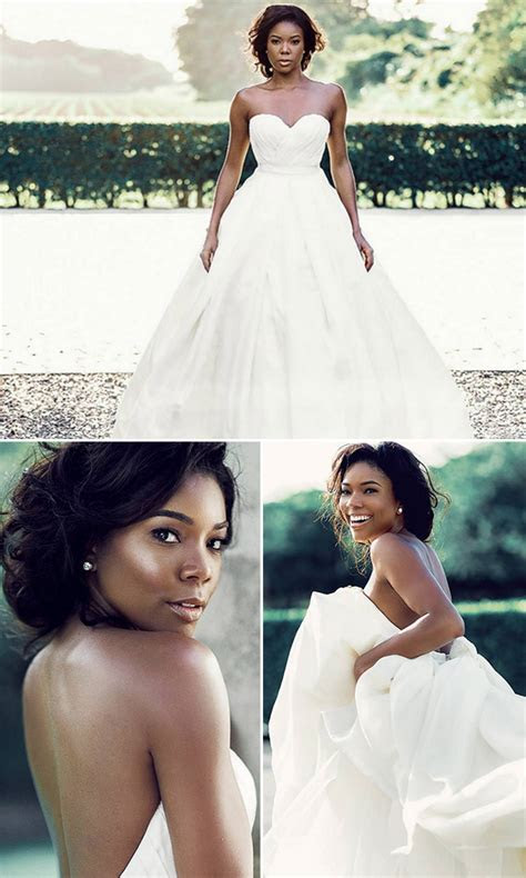 [PICS] Gabrielle Union?s Wedding Dress ? Never Before Seen