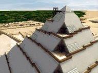Construcción de las pirámides según Houdin