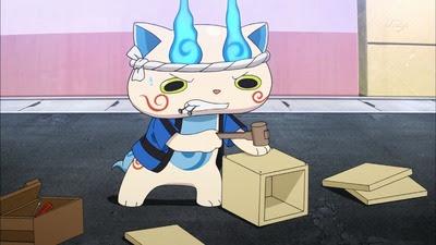 アニメ妖怪ウォッチ江戸っ子コマさん可愛いしもんげー良い子c