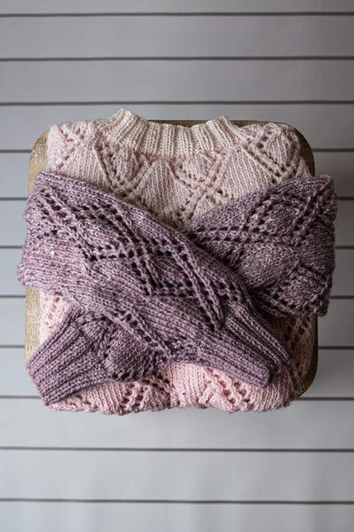 Diamond Lace Sweater (Knit)