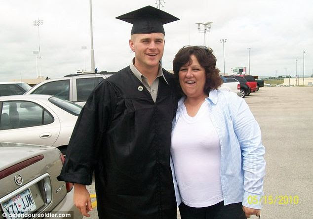 Devastated mother Anna Lorance claims her son, First Lieutenant Clint Lorance, is being unfairly victimized by the military