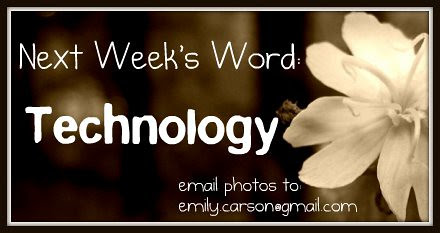 Word of the Week Tech
