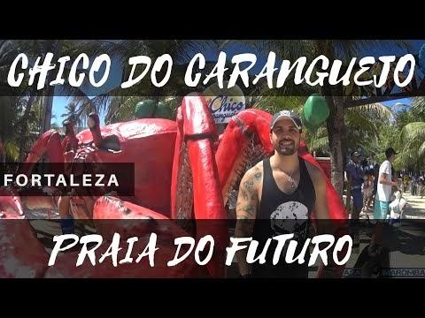 Praia do Futuro - Chico do Caranguejo Fortaleza Ceará