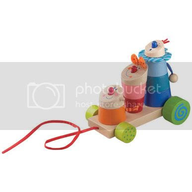 Stack the Trix Mix Pull Toy