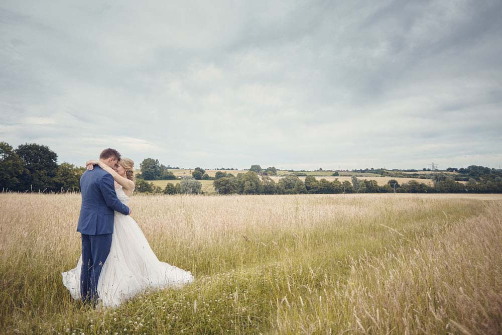 stunning skies at wedding in Burstall, Suffolk - www.helloromance.co.uk
