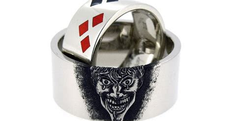 Joker And Harley Quinn Wedding Rings