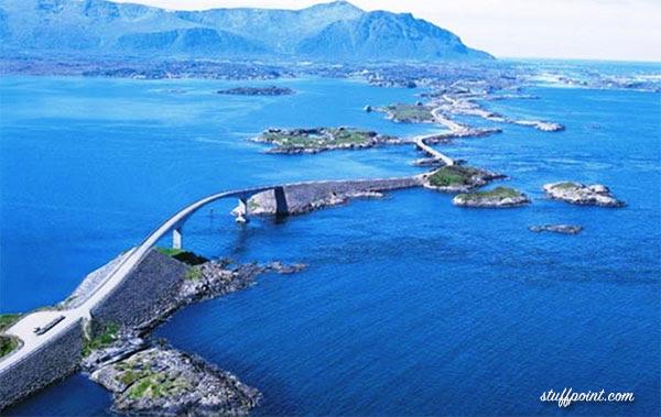 A Estrada Atlântica – Noruega