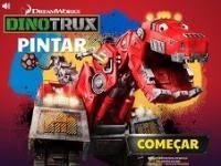 Dinozor Makineler Boyama Dinozor Makineler Boyama Oyunutrt çocuk