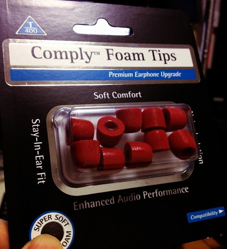 Comply Foam Tips T-400 (RED) by cinz