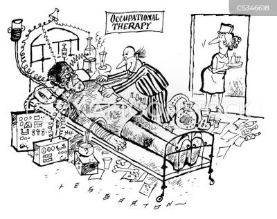 Occupational Therapy Cartoon Images