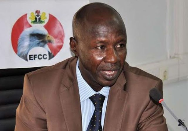 UPDATE!!! Displaced EFCC Acting Chairman, Magu Appears At Probe Panel