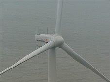 Vattengall wind turbine