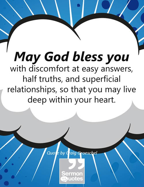 May God Bless You Sermonquotes