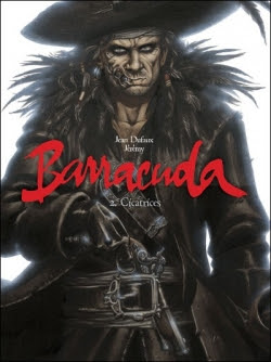 Couverture Barracuda, tome 2 : Cicatrices