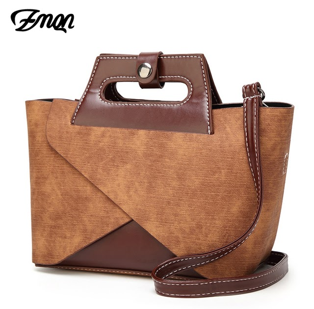 b9df1a7504a76 Cheap ZMQN Handbags 2 Sets Small Style Women's Bags Small Shoulder  Patchwork Brown Vintage Bags Woman Party Popular Alphabet Bag C617 | Women  Bags Store