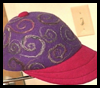 Felted<br />  Baseball Caps  : Pantyhose Crafts Ideas for Children