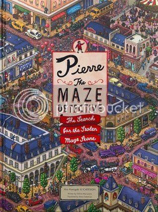 Pierre the Maze Detective by Hiro Kamigaki & IC4DESIGN