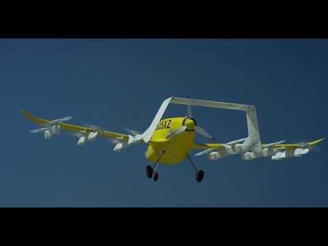 Táxi voador da Wisk em testes autônomos