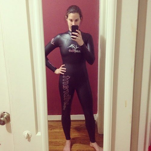 Me in my new wetsuit