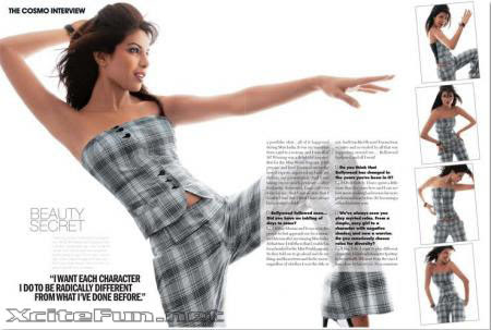 Priyanka Kicks Ass Shots n Interview From Cosmo Magazine