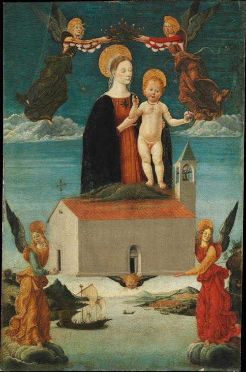 Traslado de la Santa Casa de Loreto por Saturnino Gatti