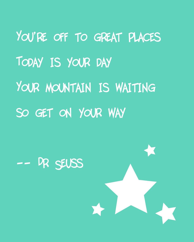 Quotes Positive Education Dr Seuss Quotes. QuotesGram