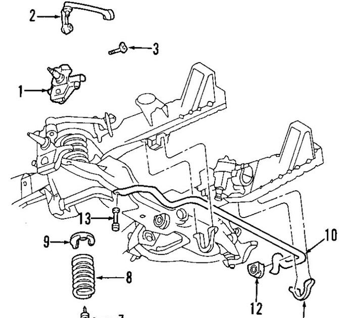 F250 Front Suspension Diagram
