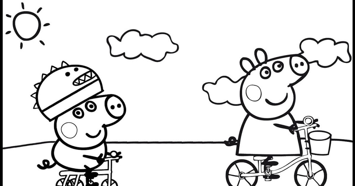 34 Peppa Pig George Coloring Pages - Zsksydny Coloring Pages