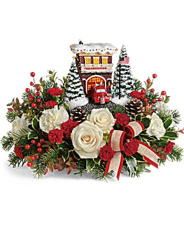 Thomas Kinkade S Hero S Holiday Bouquet In Knoxville Tn Petree S Flowers Inc