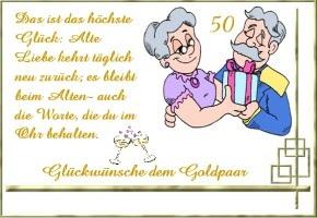 Lustige Sprüche Goldene Hochzeit Sprüche Und Zitaten