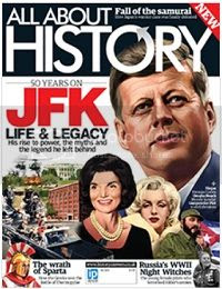 click for All about History website