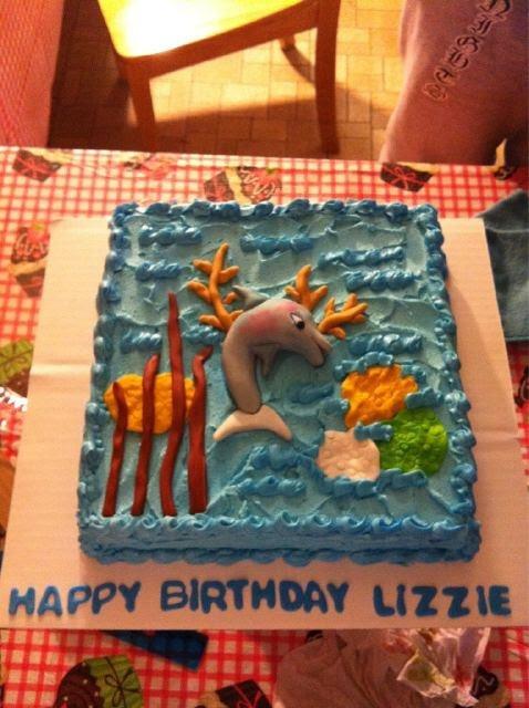Awesome Animal Jam themed birthday cake!
